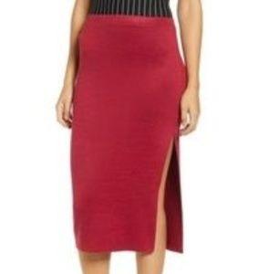 Leith body con skirt